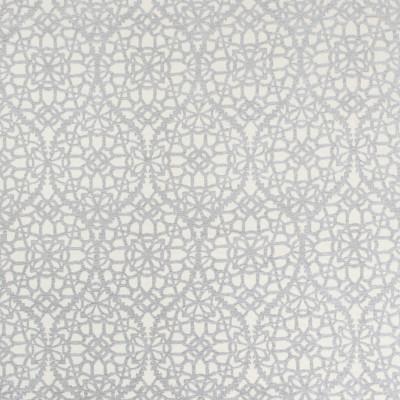 B8178 Oyster Fabric: E07, GRAY LATTICE CHENILLE, GRAY GEOMETRIC CHENILLE, GREY, OGEE CHENILLE, FLORAL CHENILLE, WOVEN