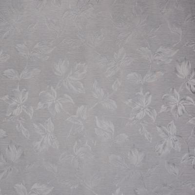 B8193 Fog Fabric: E07, LEAFY DAMASK, LEAF DAMASK, GRAY FLORAL DAMASK, GREY FLORAL DAMASK, FOLIAGE