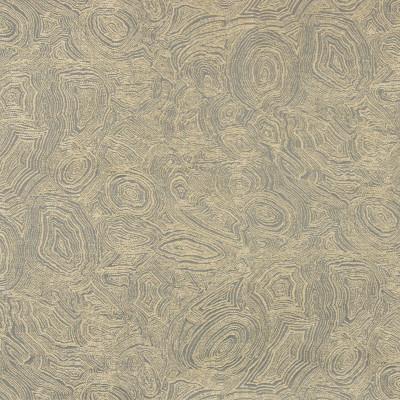 B8200 Bronze Fabric: E07, GOLD METALLIC GEODE, JACQUARD GEODE, CONTEMPORARY JACQUARD, METALLIC AGATE LOOK