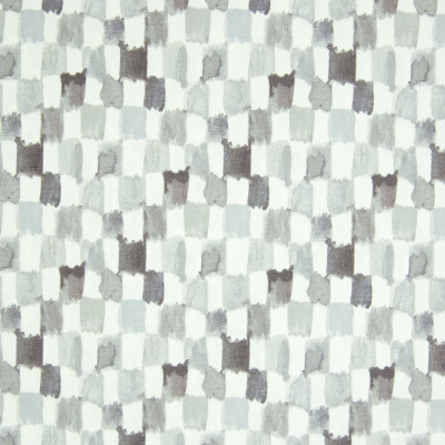 B8203 Oyster Fabric: E07, GRAY CHECK, CONTEMPORARY GRAY CHECKERS, GREY CHECK, GREY CHECKERS, COTTON PRINT