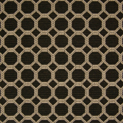 B8208 Jet Fabric: E07, BLACK OCTOGON, BLACK GEOMETRIC, BLACK AND GOLD GEOMETRIC, CHAIR SCALE GEOMETRIC, SMALL SCALE GEOMETRIC,WOVEN
