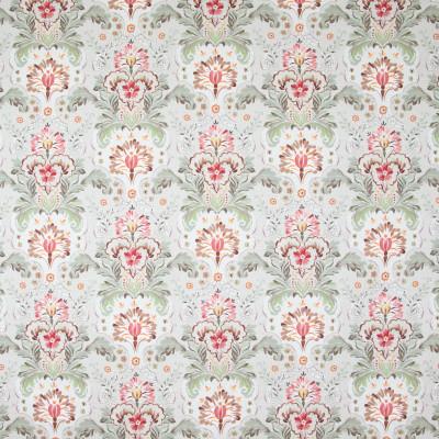 B8238 Nutmeg Fabric: E08, COTTON FLORAL PRINT, CORAL FLORAL PRINT, PINK FLORAL PRINT, SCROLL