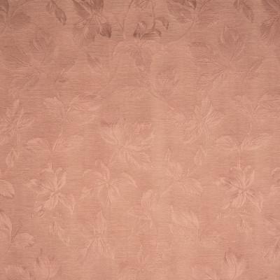 B8241 Sunset Fabric: E08, CORAL LEAVES, CORAL DAMASK, LEAF PATTERN, DARK PINK DAMASK, CORAL COLORED DAMASK, FOLIAGE