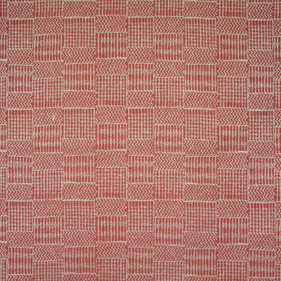 B8257 Rose Fabric: E08, RED GEOMETRIC, RED WOVEN, TRIBAL INSPIRED, RED TRIBAL PATTERN