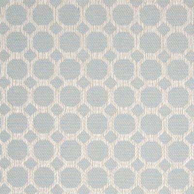 B8288 Mist Fabric: E09, OCTAGON, SMALL SCALE GEOMETRIC, CHAIR SCALE GEOMETRIC, LIGHT BLUE WOVEN, BLUE LATTICE