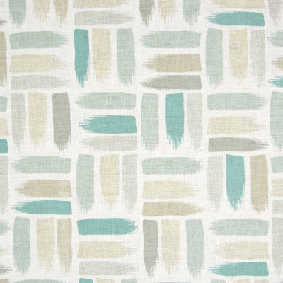 B8299 Jadestone Fabric: E09, COTTON DUCK, CONTEMPORARY COTTON PRINT, TEAL, AQUA COTTON PRINT