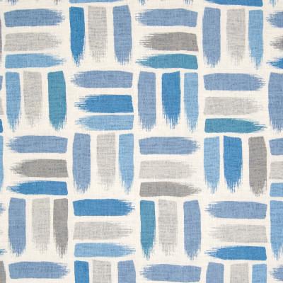 B8318 Denim Fabric: E10, COTTON DUCK PRINT, CONTEMPORARY PRINT, PAINTERLY LOOK, GEOMETRIC PRINT