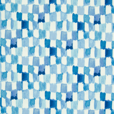 B8332 Bluejay Fabric: E10, BLUE CHECK, BLUE CHECKERS, BLUE CHECK PRINT, WATERCOLOR PRINT, COTTON PRINT, BLUE COTTON PRINT