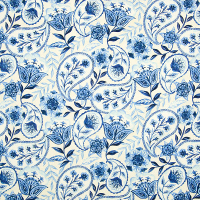 B8334 Cobalt Fabric: E10, BLUE FLORAL PRINT, BLUE JAY FLORAL PRINT, MEDIUM BLUE FLORAL PRINT, COTTON FLORAL PRINT, BLUE FLORAL COTTON PRINT, LARGE SCALE PAISLEY PRINT, LARGE SCALE FLORAL PRINT