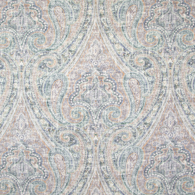 B8341 Brandy Fabric: E10, DARK BLUE PAISLEY, LARGE SCALE PAISLEY PRINT, GRAND SCALE PAISLEY PRINT, MULTICOLORED PAISLEY PRINT