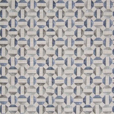 B8344 Haze Fabric: E10, BLUE GEOMETRIC, BLUE AND GRAY GEOMETRIC, SMALL SCALE GEOMETRIC, CHAIR SCALE GEOMETRIC, MULTICOLORED GEOMETRIC, WOVEN