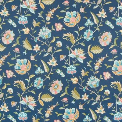 B8346 Ultramarine Fabric: E10, DARK BLUE FLORAL PRINT, COTTON PRINT, BLUE FLORAL PRINT, PINK FLORAL PRINT, BLUE AND PINK FLORAL PRINT, MIDNIGHT BLUE FLORAL PRINT