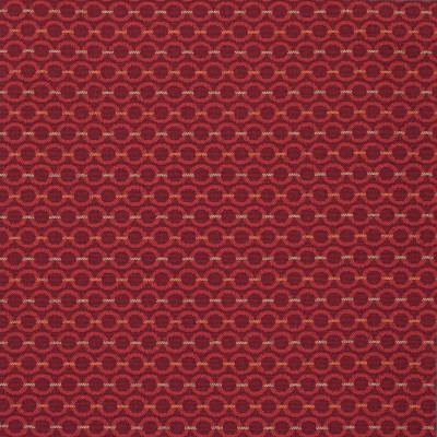 B8447 Sizzle Fabric: E13, RECYCLED POLYESTER, CONTRACT FABRIC, COMMERCIAL FABRIC, CHURCH FABRIC, OFFICE CHAIR FABRIC, OFFICE FABRIC, RED CIRCLE, RED GEOMETRIC, DARK RED CIRCLES, DARK RED GEOMETRIC,WOVEN