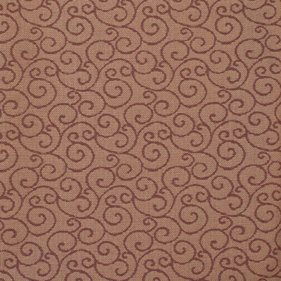B8452 Glitz Fabric: E13, RECYCLED POLYESTER, CONTRACT FABRIC, COMMERCIAL FABRIC, CHURCH FABRIC, OFFICE CHAIR FABRIC, OFFICE FABRIC, RED SCROLL, BURGUNDY SCROLL, CHIANTI SCROLL, DARK RED SCROLL, CHAIR SCALE SCROLL, WOVEN