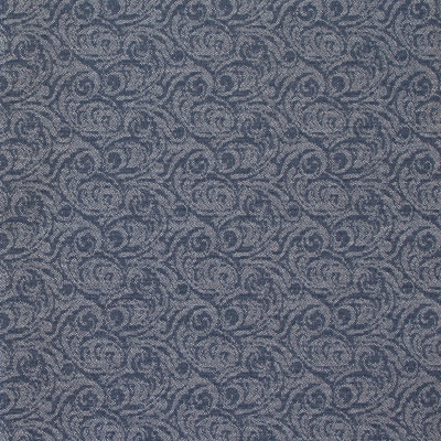 B8476 Valor Fabric: E13, RECYCLED POLYESTER, CONTRACT FABRIC, COMMERCIAL FABRIC, CHURCH FABRIC, OFFICE CHAIR FABRIC, OFFICE FABRIC, BLUE SCROLL, NAVY SCROLL, INDIGO SCROLL, OCEAN BLUE SCROLL, SMALL SCALE SCROLL, CHAIR SCALE SCROLL, WOVEN