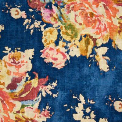 B8679 Sapphire Fabric: E38, FLORAL BOUQUET, LARGE SCALE FLORAL PRINT, INDIGO FLORAL PRINT, OCEAN BLUE FLORAL PRINT, SAPPHIRE FLORAL PRINT, VIBRANT BLUE FLORAL PRINT