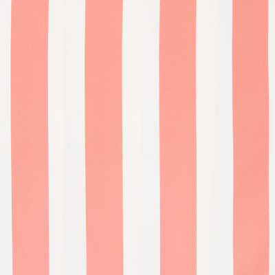 B8809 Coral Fabric: E17, CABANA STRIPE, WIDE STRIPE, WIDE WIDTH STRIPE, CORAL AND WHITE STRIPE, OUTDOOR PERFORMANCE, PERFORMANCE FABRIC, BLEACH CLEANABLE, MILDEW RESISTANCE, MILDEW RESISTANCE, DURABLE OUTDOOR FABRIC, UV RESISTANT, SOLID TWILL, TWILL, 100% HIGH UV COMMERCIAL GRADE POLYESTER