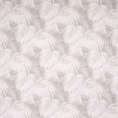 B8843 Frost Fabric: E18, OUTDOOR FABRIC, INDOOR/OUTDOOR FABRIC, OUTDOOR PERFORMANCE FABRIC, BLEACH CLEANABLE, UV RESISTANT, ANTIMICROBIAL, STAIN RESISTANT, PALM LEAVES, PALM LEAF, TROPICAL PALM