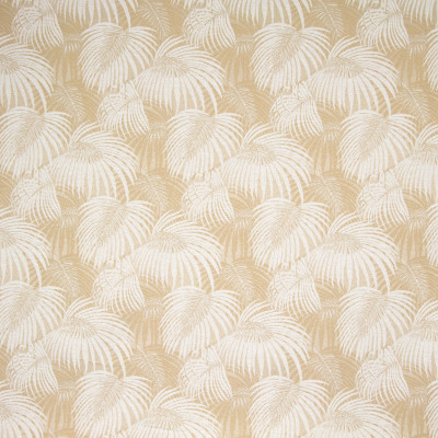 B8853 Shortbread Fabric: E18, OUTDOOR FABRIC, INDOOR / OUTDOOR FABRIC, OUTDOOR PERFORMANCE FABRIC, BLEACH CLEANABLE, UV RESISTANT, ANTI-MICROBIAL, STAIN RESISTANT, PALM LEAVES, PALM LEAF, TROPICAL PALM