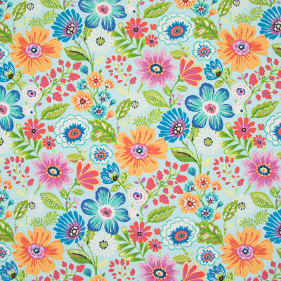 B8877 Aqua Fabric: E19, , STAIN RESISTANT, OUTDOOR FABRIC, INDOOR / OUTDOOR FABRIC, FAMILY FRIENDLY FABRIC, FADE RESISTANT UP TO 500 HOURS OF DIRECT SUN EXPOSURE