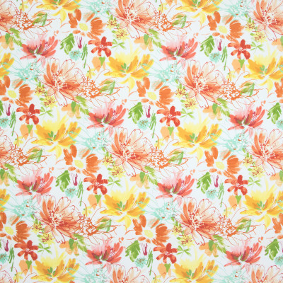 B8901 Tropical Fabric: E19, , STAIN RESISTANT, OUTDOOR FABRIC, INDOOR / OUTDOOR FABRIC, FAMILY FRIENDLY FABRIC, FADE RESISTANT UP TO 500 HOURS OF DIRECT SUN EXPOSURE