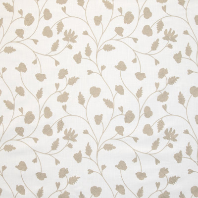 B9113 Ivory Fabric: E24, FLORAL EMBROIDERY, LEAFY EMBROIDERY, EMBROIDERY, NEUTRAL EMBROIDERY