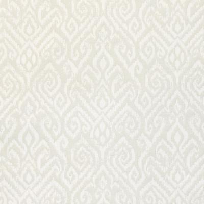 B9119 Mist Fabric: E24, GEOMETRIC, IKAT JACQUARD, NEUTRAL JACQUARD