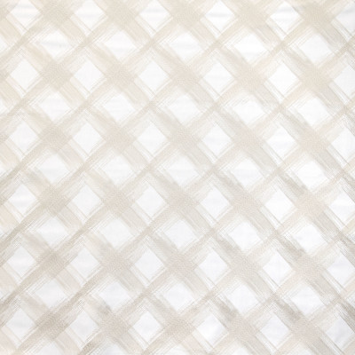 B9121 Ivory Fabric: E24, DIAMOND EMBROIDERY, NEUTRAL EMBROIDERY, LARGE SCALE DIAMOND, CONTEMPORARY DIAMOND