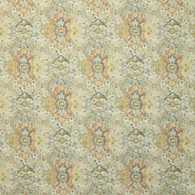 B9134 Butternut Fabric: E24, LARGE MEDALLION, LARGE SCALE MEDALLION PRINT, COTTON PRINT