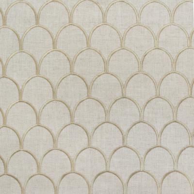 B9148 Fawn Fabric: E24, SCALLOP EMBROIDERY, SHELL EMBROIDERY, NEUTRAL EMBROIDERY, TAUPE EMBROIDERY