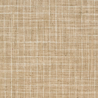 B9151 Toast Fabric: E24, WOVEN CHECK, WOVEN CHECKERS, GEOMETRIC, BURLAP CHECK