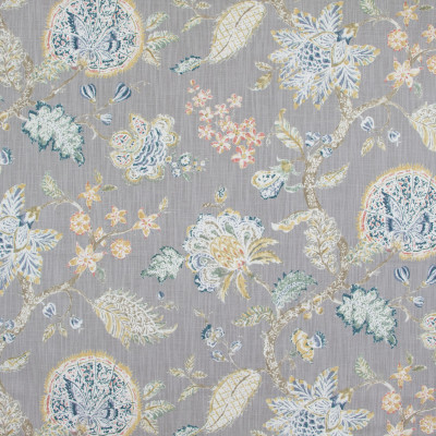 B9180 Blueberry Fabric: E25, GRAY FLORAL PRINT, LARGE SCALE FLORAL PRINT, GREY FLORAL PRINT, LARGE SCALE GREY, GRAY AND PINK FLORAL PRINT, GREY AND PINK FLORAL PRINT