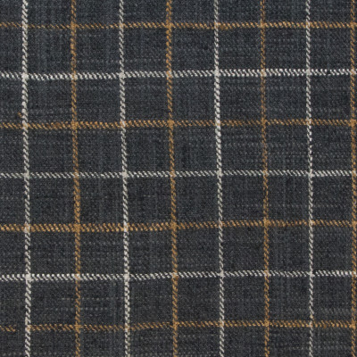B9196 Charcoal Fabric: E25, CHAIR SCALE CHECK, CHECK, BLACK CHECK, BLACK AND NEUTRAL CHECK, WOVEN CHECK, CHECKERS, PLAID