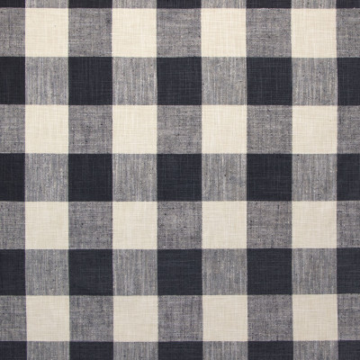 B9199 Thunder Fabric: E25, BUFFALO CHECK, WOVEN CHECK, LARGE SCALE CHECK, BLACK AND WHITE CHECK
