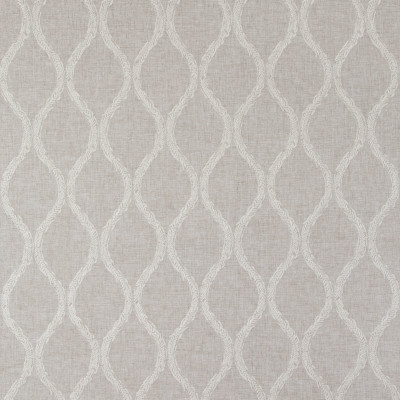 B9220 Flax Fabric: E26, GRAY OGEE EMBROIDERY, GREY OGEE EMBROIDERY, LATTICE EMBROIDERY, FLAX EMBROIDERY