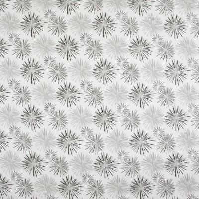 B9232 Zinc Fabric: E26, COTTON DUCK PRINT, STARBURST, GREY STAR, GRAY STAR, COTTON PRINT, BLACK AND GRAY PRINT