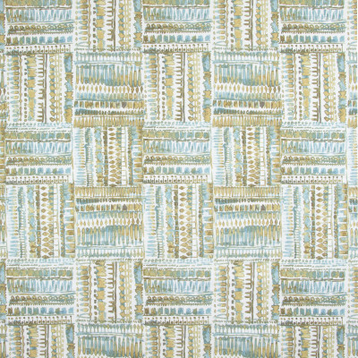 B9281 Mineral Fabric: E27, TEAL CONTEMPORARY PRINT, AQUA CONTEMPORARY PRINT, GLOBALLY INSPIRED PRINT