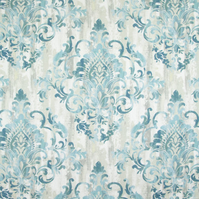 B9283 Teal Fabric: E27, LARGE SCALE MEDALLION, BLUE MEDALLION, TEAL MEDALLION, AQUA MEDALLION PRINT