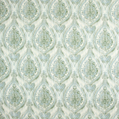 B9293 Harbor Mist Fabric: E27, COTTON DUCK, TEAL MEDALLION PRINT, AQUA MEDALLION PRINT, COTTON PRINT, FLORAL PRINT