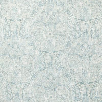 B9312 Robins Egg Fabric: E36, E28, LARGE SCALE SCROLL, LARGE SCALE PAISLEY PRINT, SCROLL PRINT, LINEN PRINT