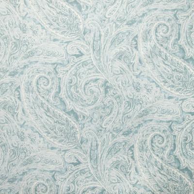 B9319 Robins Egg Fabric: E36, E28, LARGE SCALE PAISLEY PRINT, COTTON PRINT, PAISLEY COTTON PRINT, COTTON SCROLL PRINT