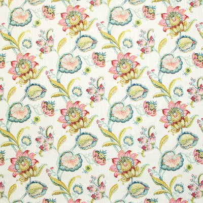 B9361 Windflower Fabric: E29, FLORAL PRINT, COTTON PRINT, LARGE SCALE FLORAL PRINT