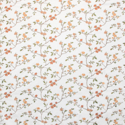 B9364 Garden Fabric: E29, FLORAL EMBROIDERY, PINK FLORAL EMBROIDERY, BLUSH FLORAL EMBROIDERY