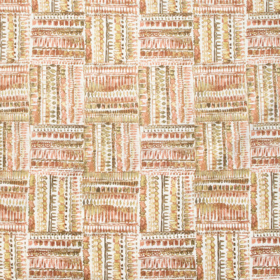 B9368 Peach Spice Fabric: E29, CONTEMPORARY COTTON PRINT, WORLDLY INSPIRED PRINT, GLOBALLY INSPIRED PRINT, CONTEMPORARY STYLE
