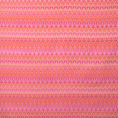 B9381 Bright Fabric: E29, PINK, GEOMETRIC, PINK AND ORANGE CHENILLE, GEOMETRIC CHENILLE