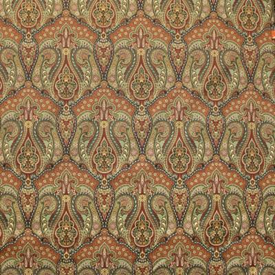 B9389 Indian Summer Fabric: E29, RED SCROLL PRINT, FLORAL RED PRINT, FLORAL PRINT, PAISLEY PRINT
