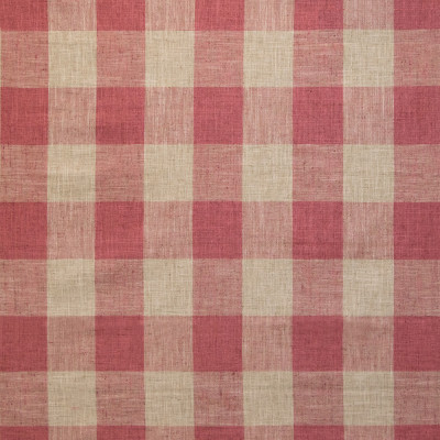 B9395 Red Pepper Fabric: E29, RED CHECK, LARGE SCALE CHECK, WOVEN CHECK, BUFFALO CHECK