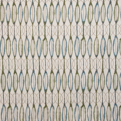 B9399 Malachite Fabric: E29, GEOMETRIC, JACQUARD, WOVEN, GREEN, LATTICE