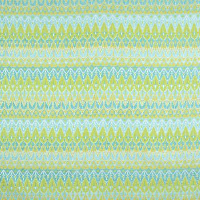 B9402 Light Green Fabric: E29, BLUE GEOMETRIC, TEAL GEOMETRIC, GEOMETRIC, JACQUARD, CONTEMPORARY JACQUARD, CHENILLE