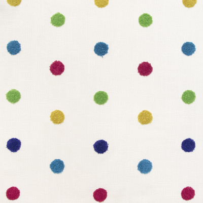 B9415 Fiesta Fabric: E30, DOT, POLKA DOT, DOT EMBROIDERY, POLKA DOT EMBROIDERY, MULTICOLORED DOT EMBROIDERY